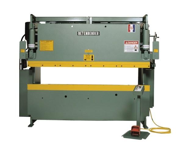Betenbender 10' x 120 Ton Hydraulic Press Brake