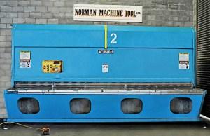 """Accurshear 14' x 1/4"""" Hydraulic Power Squaring Shear, 825014"""