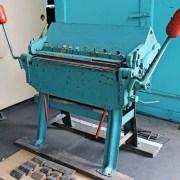 Chicago Dreis & Krump 3' x 14 Gauge Box and Pan Brake
