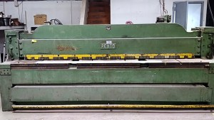 "Pexto 10' x 3/16"" - 10 Gauge Mechanical Power Squaring Shear, 10-U-10A- SALE PENDING"