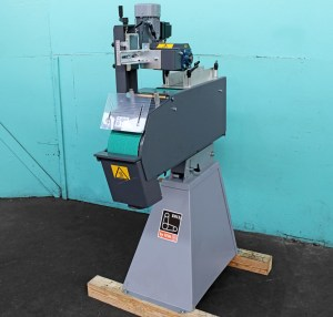 "Fein ""Grit"" GI150 6"" Industrial Belt Grinder with GIL Longitudinal Surface Grinder Attachment"