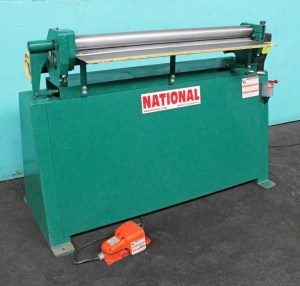 National 4' x 16 Gauge Power Roll Forming Machine