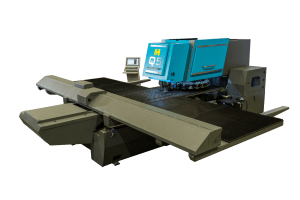 Haco 33 Ton 7-Axis Programmable CNC Turret Punch Press, Q5