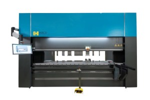 Haco 12' x 220 Ton Multi-Axis Hydraulic CNC Press Brake, ERM 220 12 10