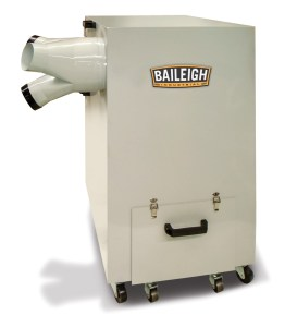 Baileigh Industrial Metal Dust Collector, MDC-1800