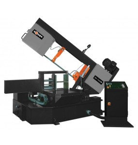"Cosen 17.7"" Semi-Automatic Hydraulic Swivel Head Double Miter Horizontal Band Saw, SH-700DM"