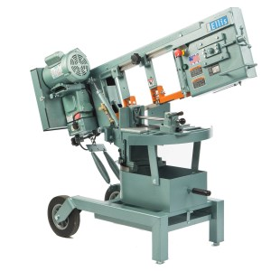 "Ellis 10"" Horizontal Double Miter Swivel Head Band Saw, 1600"