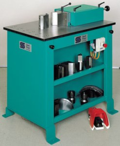 Stierli-Bieger 24 Ton Horizontal Bending and Straightening Machine, 220 HE