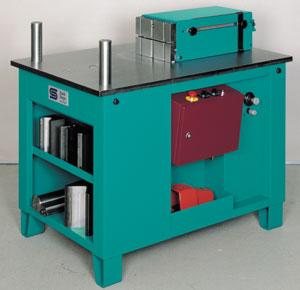 Stierli-Bieger 48 Ton Horizontal Bending and Straightening Machine, 420 HE