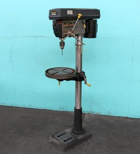 """Central Machinery 17"""" Floor Model Drill Press, 143389"""