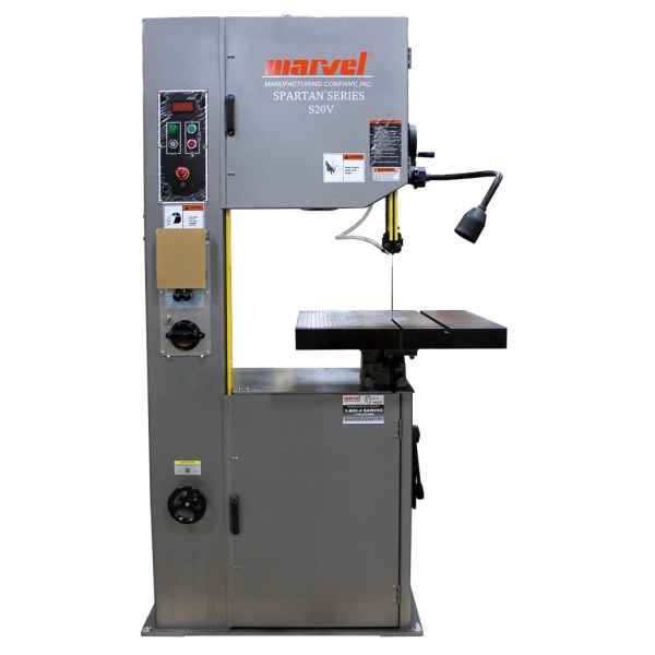 "Marvel Spartan 20"" High Speed Vertical Contour Band Saw, S20V"