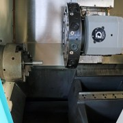 Clausing-Colchester 2-Axis 60 Degree Slant Bed CNC Lathe, CNC200 Storm