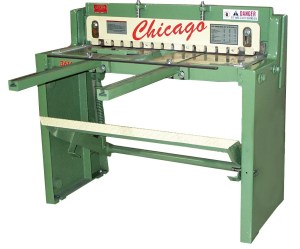 "Chicago Dreis & Krump 52"" x 16 Gauge Manual Foot Shear, FS-5216"