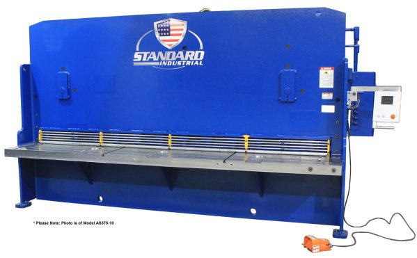 Standard Industrial 6' x 10 Gauge Hydraulic Shear, AS135-6B