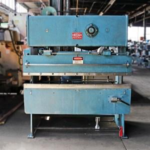 Chicago Dreis & Krump 6' x 25 Ton Mechanical Press Brake with Variable Speed Drive - SALE PENDING