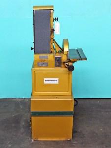 """Powermatic 6"""" Belt/12"""" Disc Combination Sander, Model 30"""