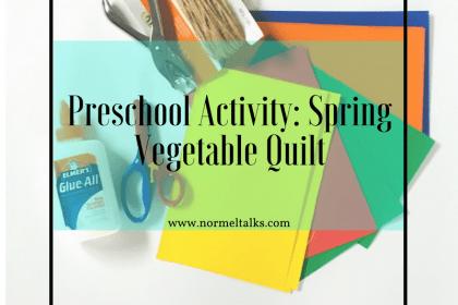 Preschool Spring Activity