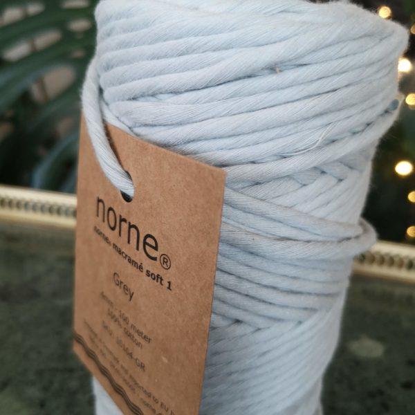 norne macramé soft 1 Grey