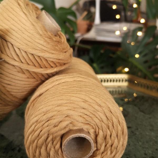 Bomuldsreb i brun fra norne