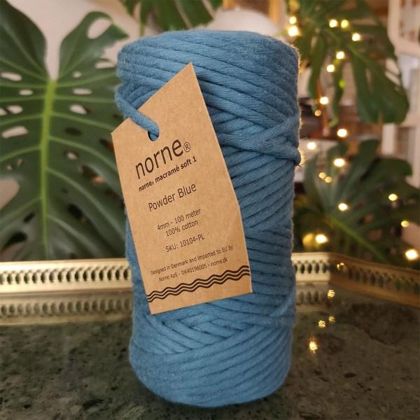 norne® macramé soft 1 powder blue
