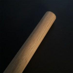 Macramépind 15 mm i egetræ