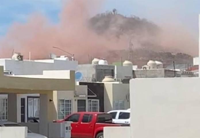 En Mazatlán, dinamitan cerro y los habitantes de los alrededores se  atemorizan