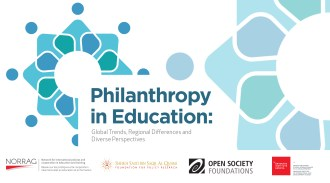 Philanthropy in Education: Global Trends, Regional Differences and Diverse Perspectives