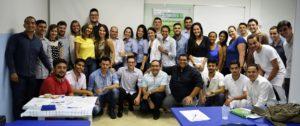 Biomédicos comemoram fundação de novo sindicato no Tocantins