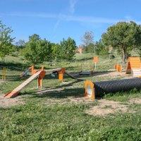 Tres Cantos cuenta con una segunda área de recreo canino con elementos de Agility en el Parque Central
