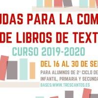 Abierto el plazo para solicitar las ayudas para la compra de libros de texto del curso 2019-2020