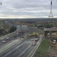Desde este miércoles, las obras del Nudo de Colmenar desvían el tráfico en la M-40