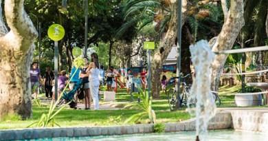"""La puesta en valor de la Plaza Héctor """"Toto"""" González fue inaugurada frente a cientos de vecinos"""