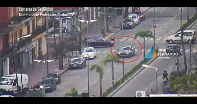 Gracias a las cámaras de seguridad fue interceptado un auto robado y detenido el conductor en estado de ebriedad