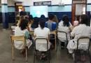 Defensa Civil de San Fernando capacitó en su Plan de Evacuación a la Escuela N° 17