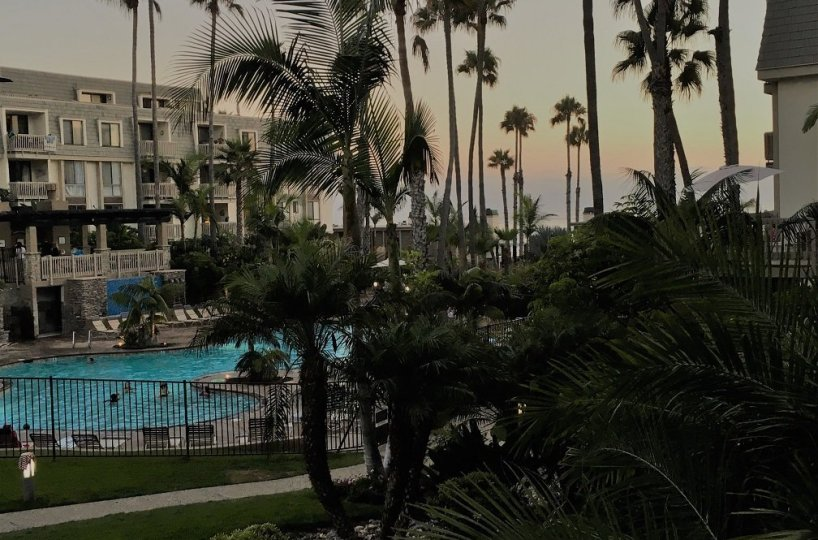 The North Coast Village Pool and Ocean View