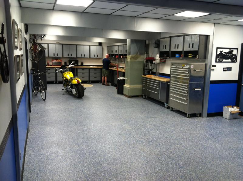 Man cave garage interior design ideas - North American ... on Garage Decorating Ideas  id=13602