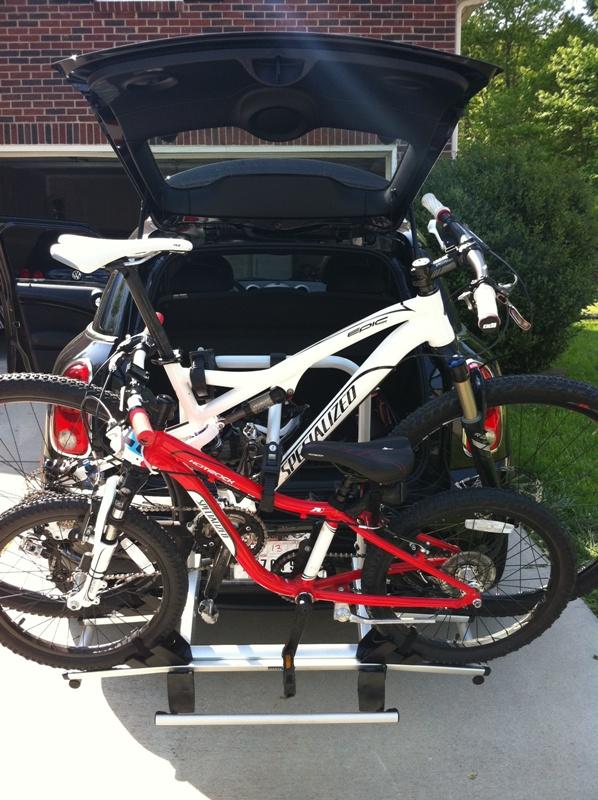 bike pic mini cooper bike rack rear