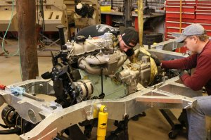 Land Rover Series IIa or III Restoration Specifications