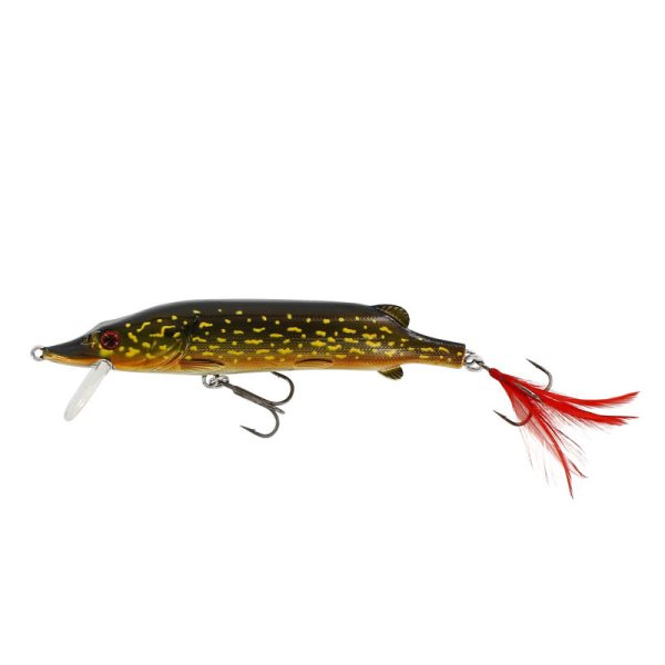 Westin Mike The Pike (140mm Hard Body) - Metal Pike Colour