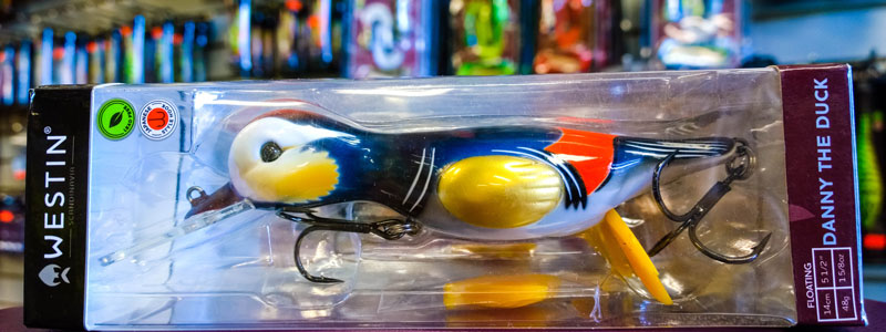 Westin Danny the Duck Lures - North Bay Outfitters
