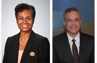 Laura Gerald and Jeff Engel