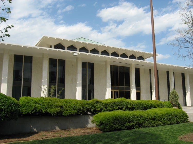 NC General Assembly building