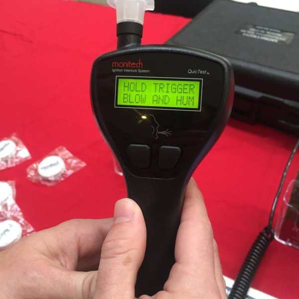 A person with an ignition interlock device installed in their car must receive training for the proper technique, to prevent them from having someone else blow into the breathalyzer device or using compressed air.