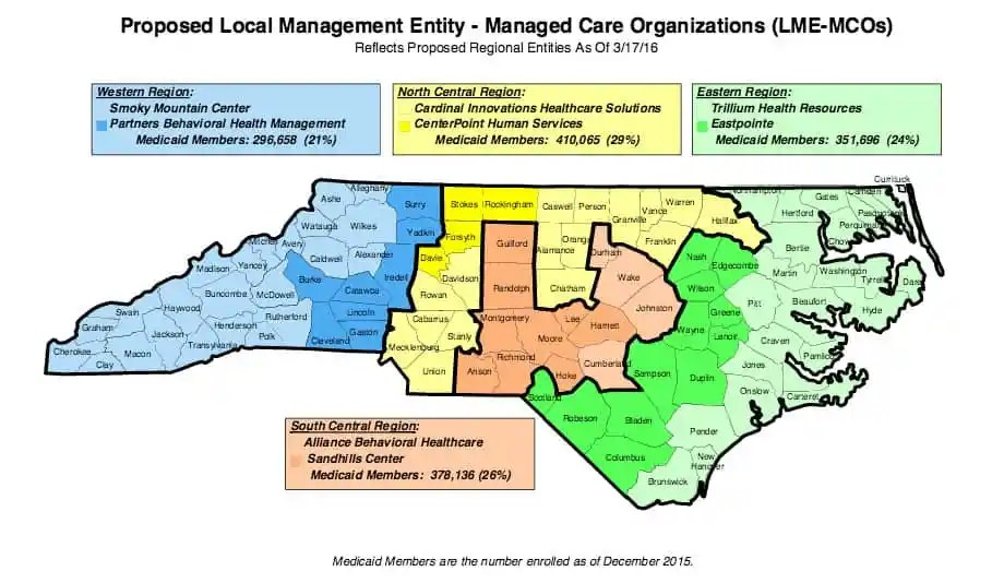Map courtesy NC Department of Health and Human Services