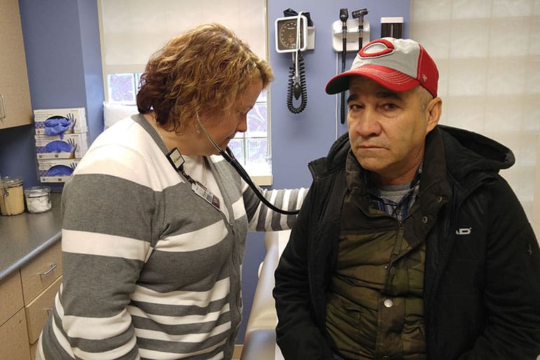 Ramon Ramos, of Indianapolis, is a Healthy Indiana member getting treated at the Jane Pauley Community Health Center.