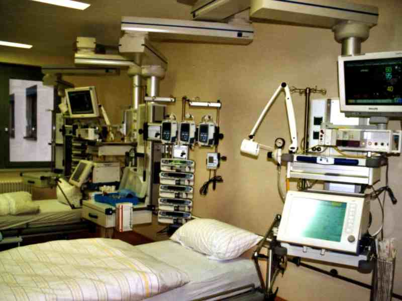 intensive care unit beds will be in short supply in case of coronavirus