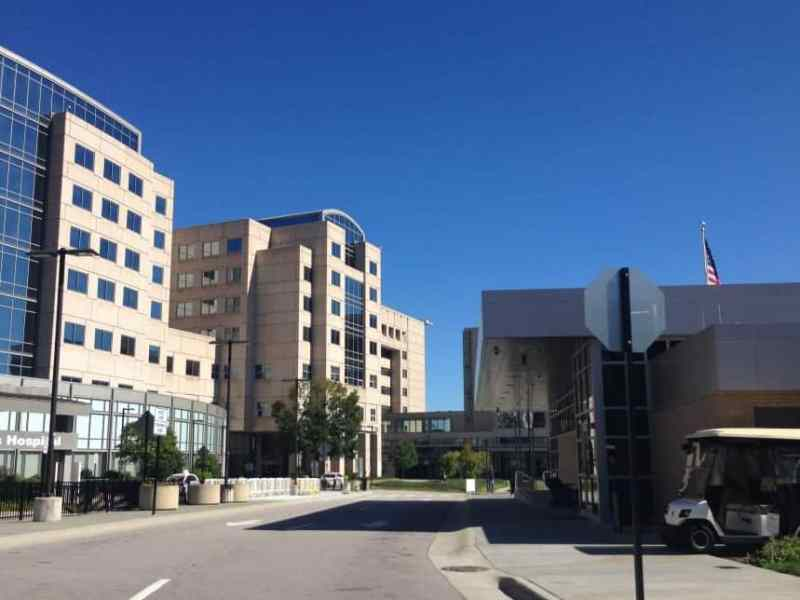 UNC hospital in Chapel Hill