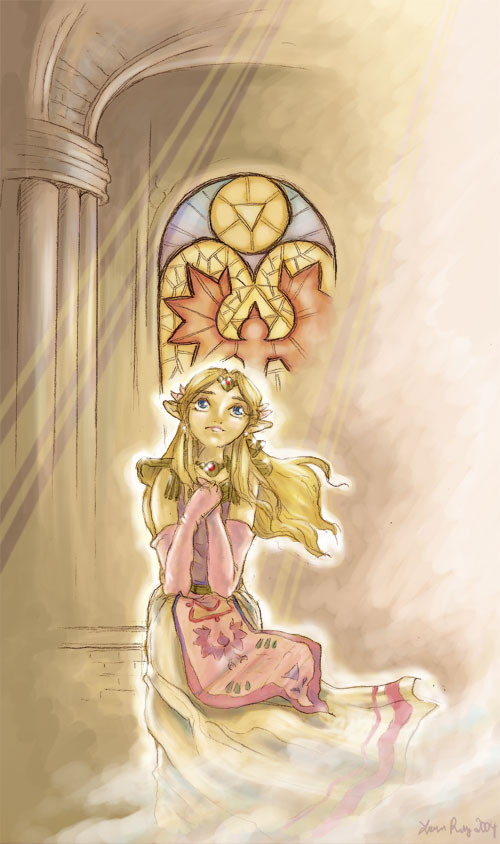 The North Castle Zelda Fan Art Gallery Lady Jenise