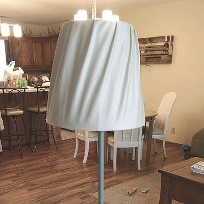 How to Update an Old Floor Lamp