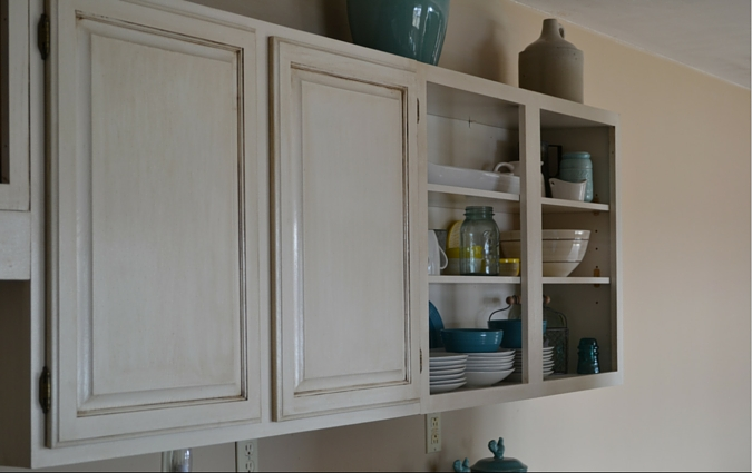 5 kitchen cabinets finished